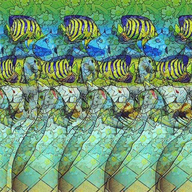 Behind the glass. #stereogram #hidden3d #stereo # ...