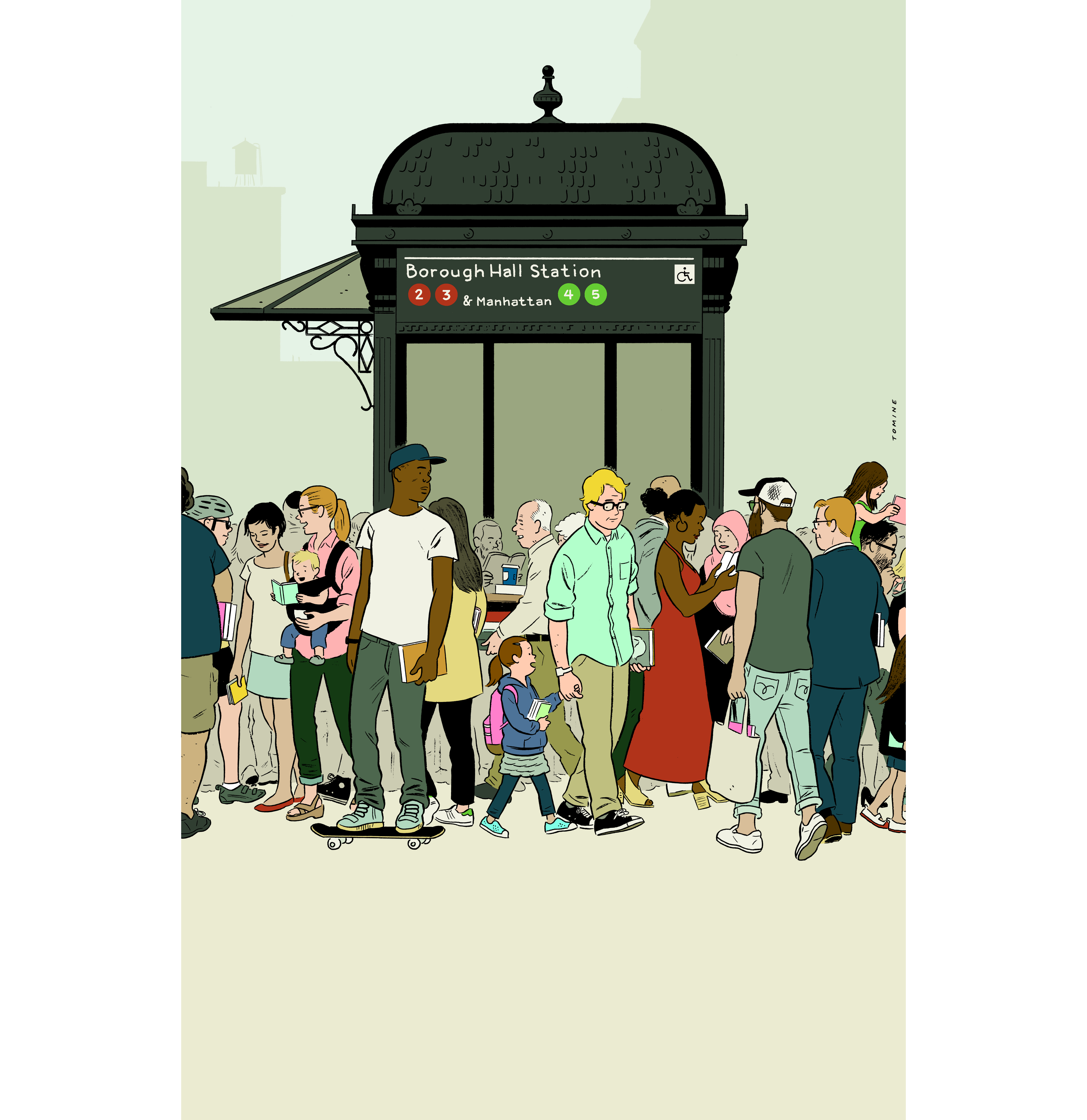 Brooklyn Book Festival Was Created For A Poster For The