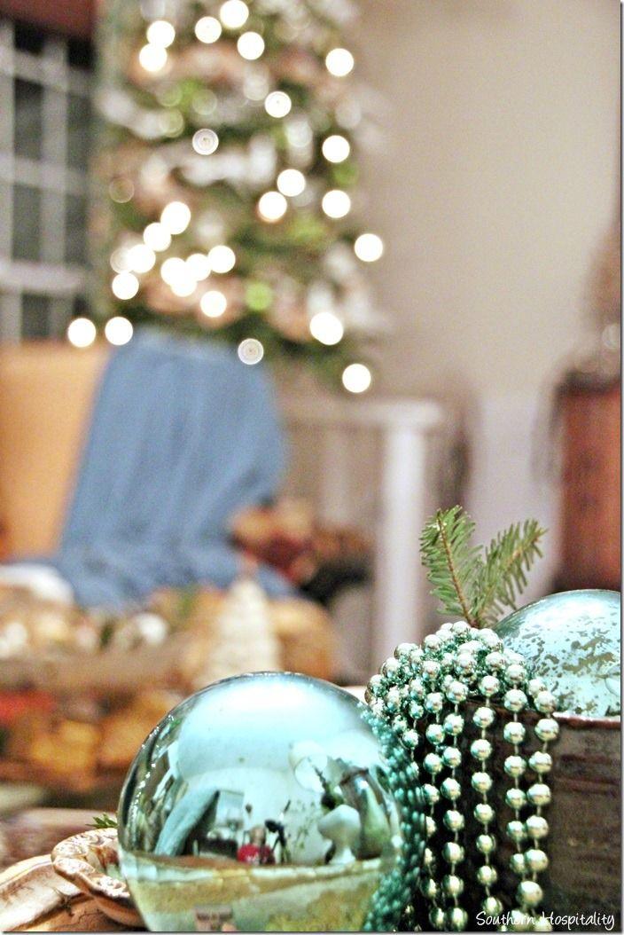christmas home tour 2013 southern hospitality holidays and