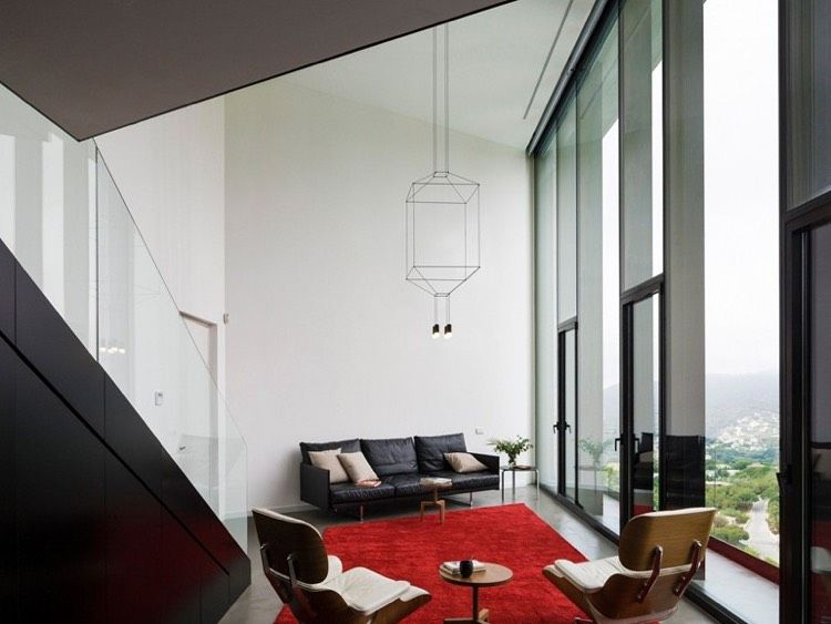 Moderne wohnzimmerlampen ~ Designer wohnzimmerlampen von vibia beleuchtungsideen