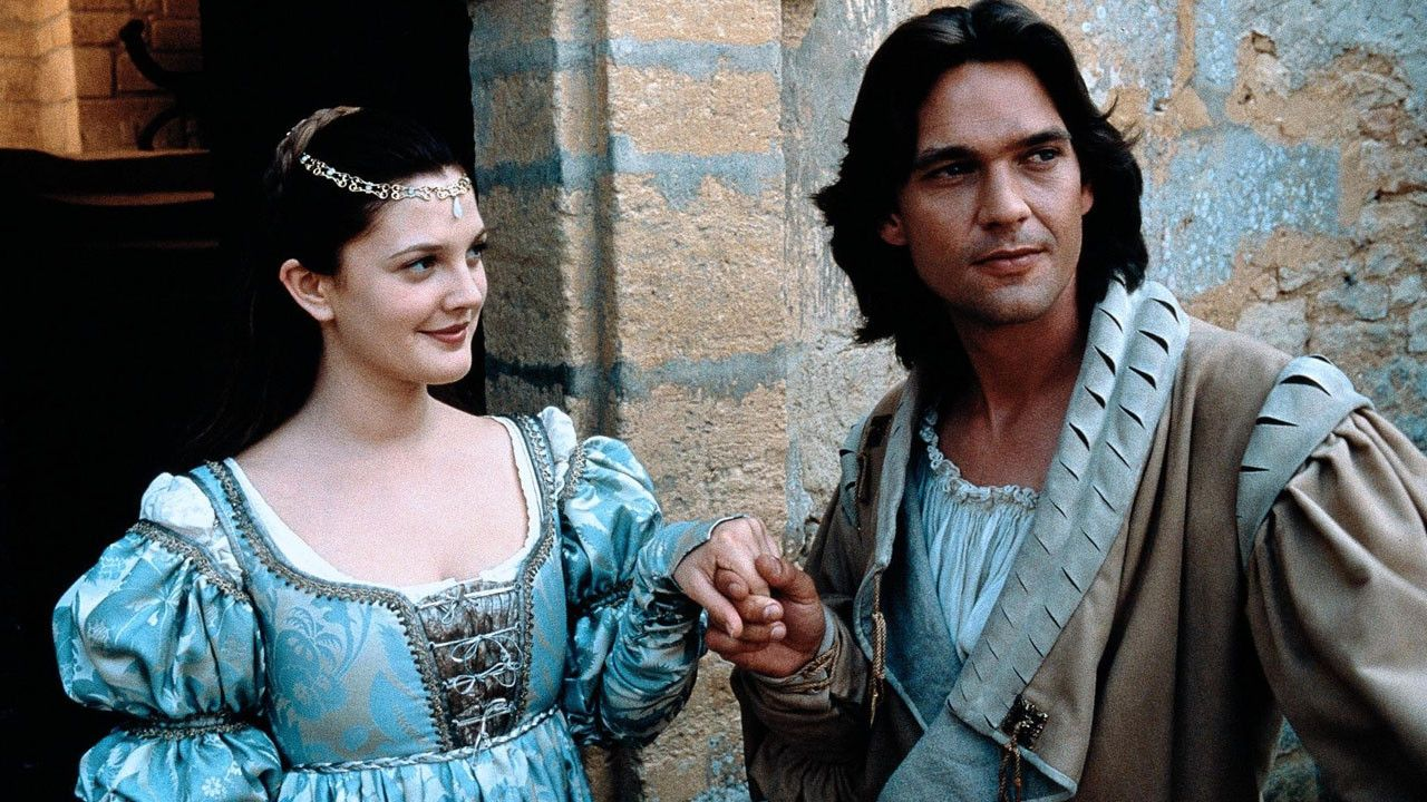 Drew Barrymore in Renaissance clothing / Ever After movie. Loved this version!