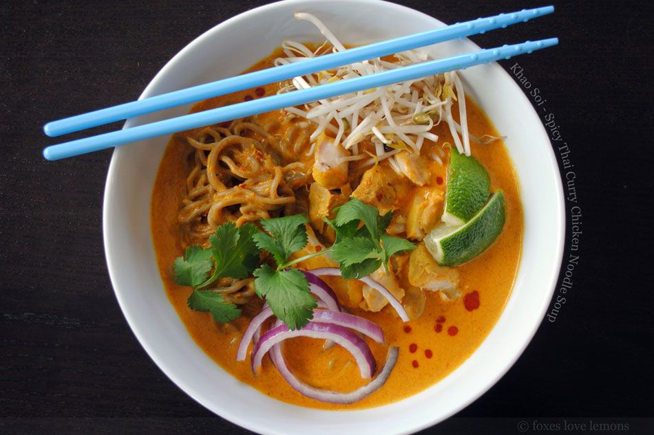Khao soi spicy thai curry chicken noodle soup this looks perfect khao soi spicy thai curry chicken noodle soup forumfinder Image collections