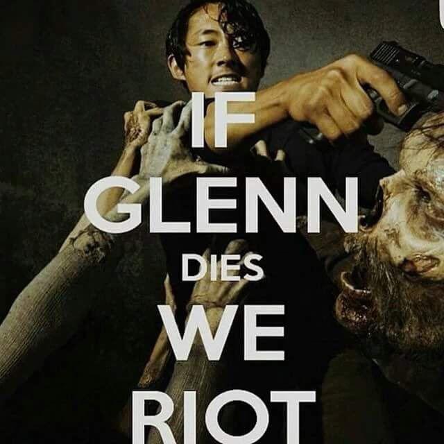 Glenn's not dead!!!