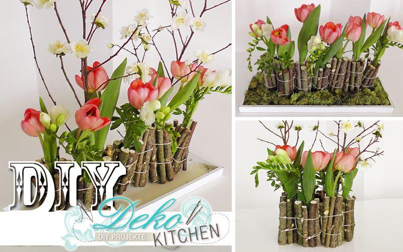 Diy Huebsche Blumen Deko Mit Holzzweigen Einfach Selber Machen