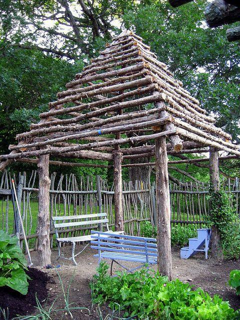Rustic Log Gazebo Rustic Backyard Garden Gazebo Backyard Garden