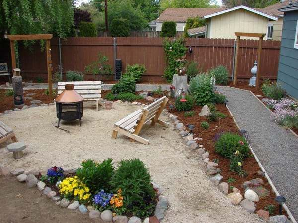 Backyard ideas on a budget posts related to arizona for Stone patio ideas on a budget