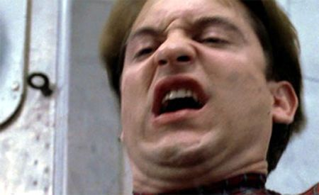 tobey maguire spiderman face - Google Search | Spider-Man with Tobey Maguire | Pinterest | Spiderman