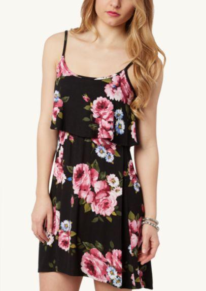 e0aeae4a27 Floral Challis Skirtall