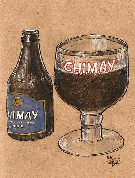 chimay bleu by petescully, via Flickr
