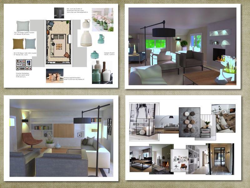 Ontwerp#lichtplan#meubelplan#accessoiresplan#Styling#3D ontwerp ...