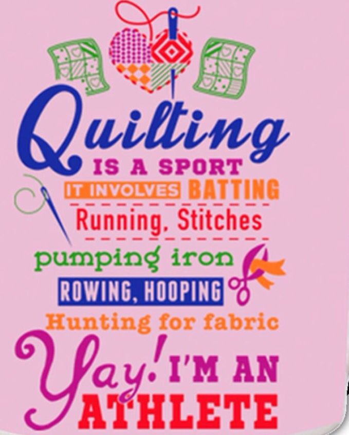 1000 Images About Quilt Fun Quote On Pinterest