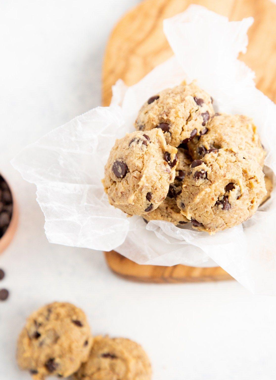 Sugar Free Gf Vegan Chocolate Chip Cookies Paige Bakes Recipe In 2020 Vegan Chocolate Chip Cookies Sugar Free Cookies Vegan Chocolate