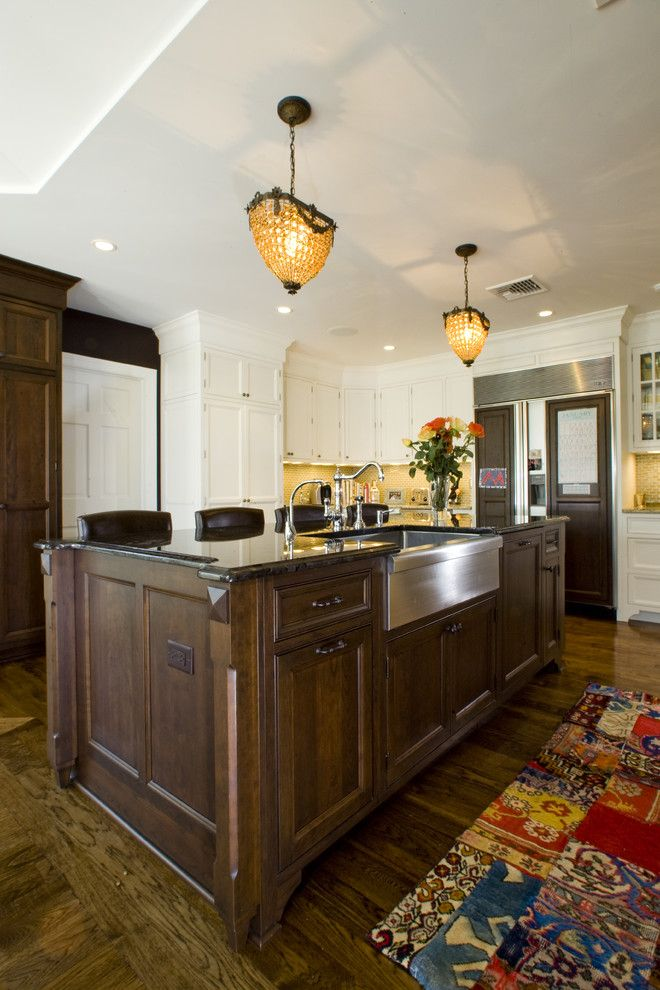 kitchen in tenafly, nj - traditional - kitchen - new york - urban