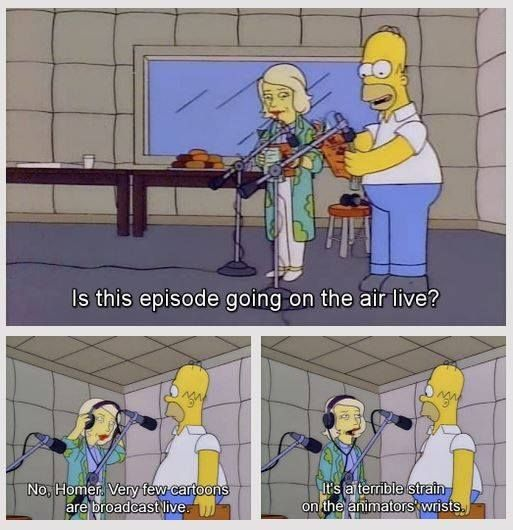 Homer Simpson Wedding Quotes: Would You Like To See A Live Broadcast Of The Simpsons?