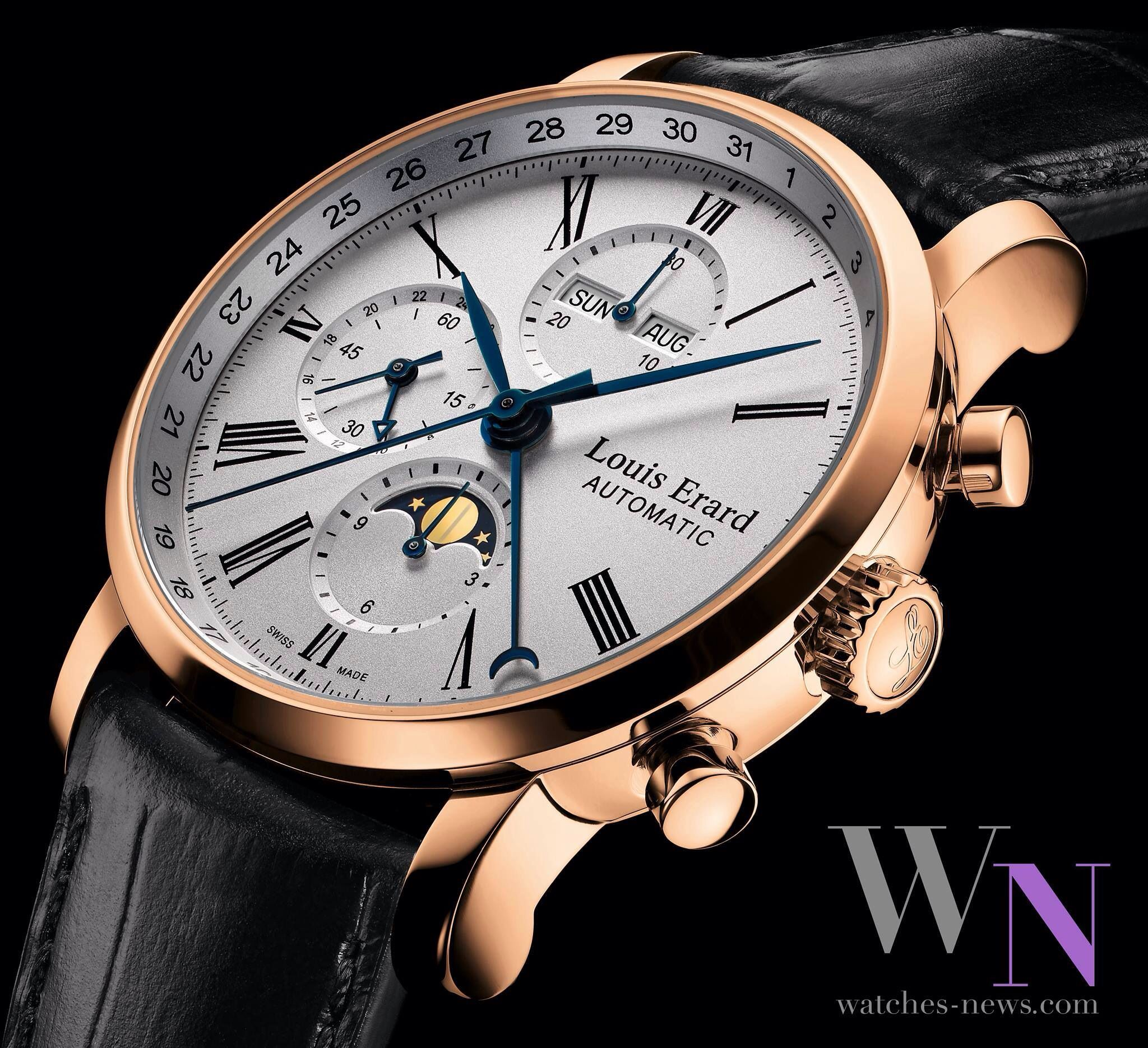 Louis Erard ルイエラール  - Excellence Moonphase 24hr Chronograph  #Watch