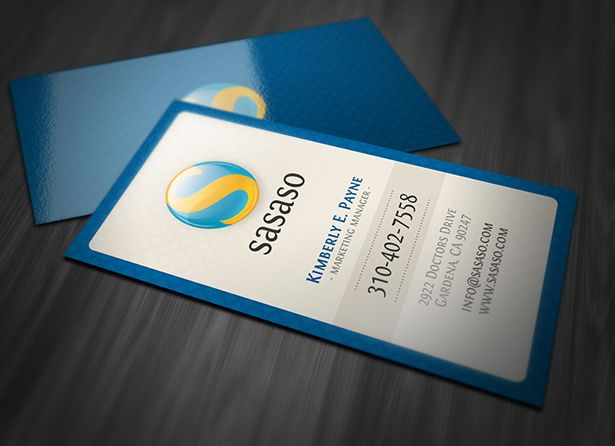 Marketing Manager Business Card Psd Set