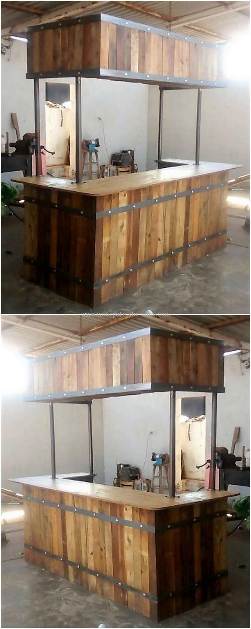 200 Diy Ideas For Wood Pallet Bars Kitchen Bar Design