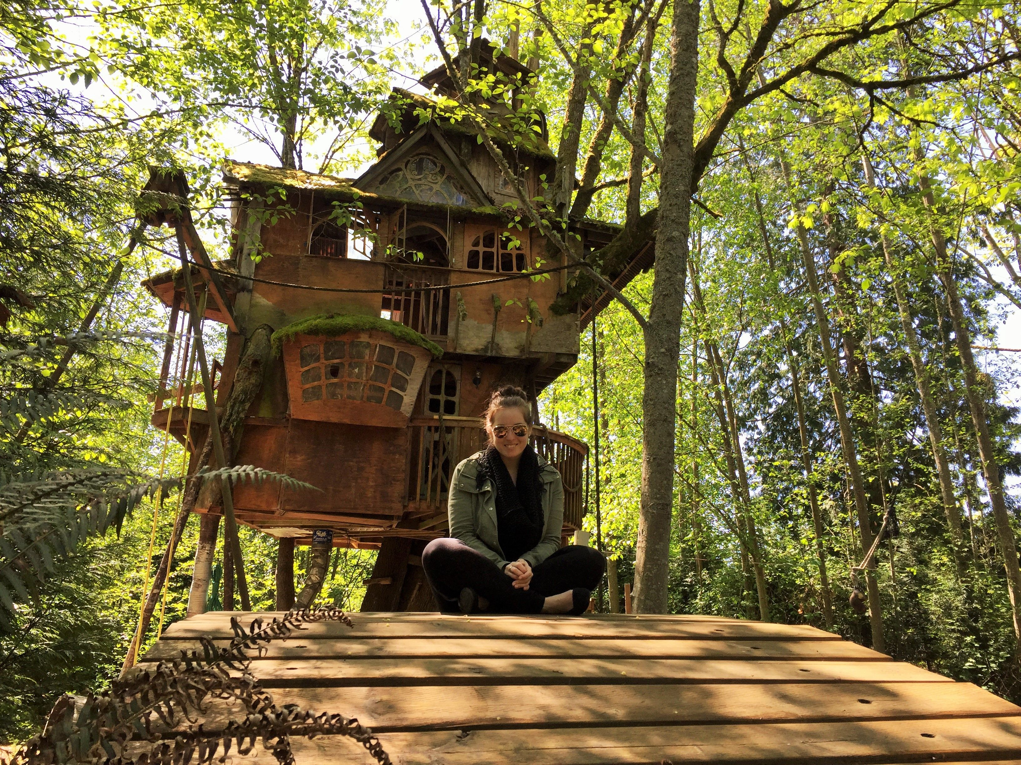 The Abandoned Treehouse Seattle