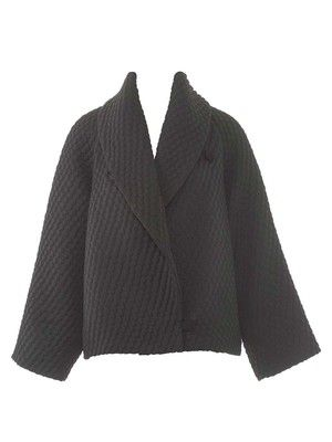burda style, Schnittmuster - Die voluminöse Jacke mit XL-Schalkragen ...