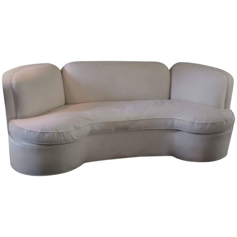 Prime Vintage Curved White Sofa Products Vintage Sofa White Caraccident5 Cool Chair Designs And Ideas Caraccident5Info