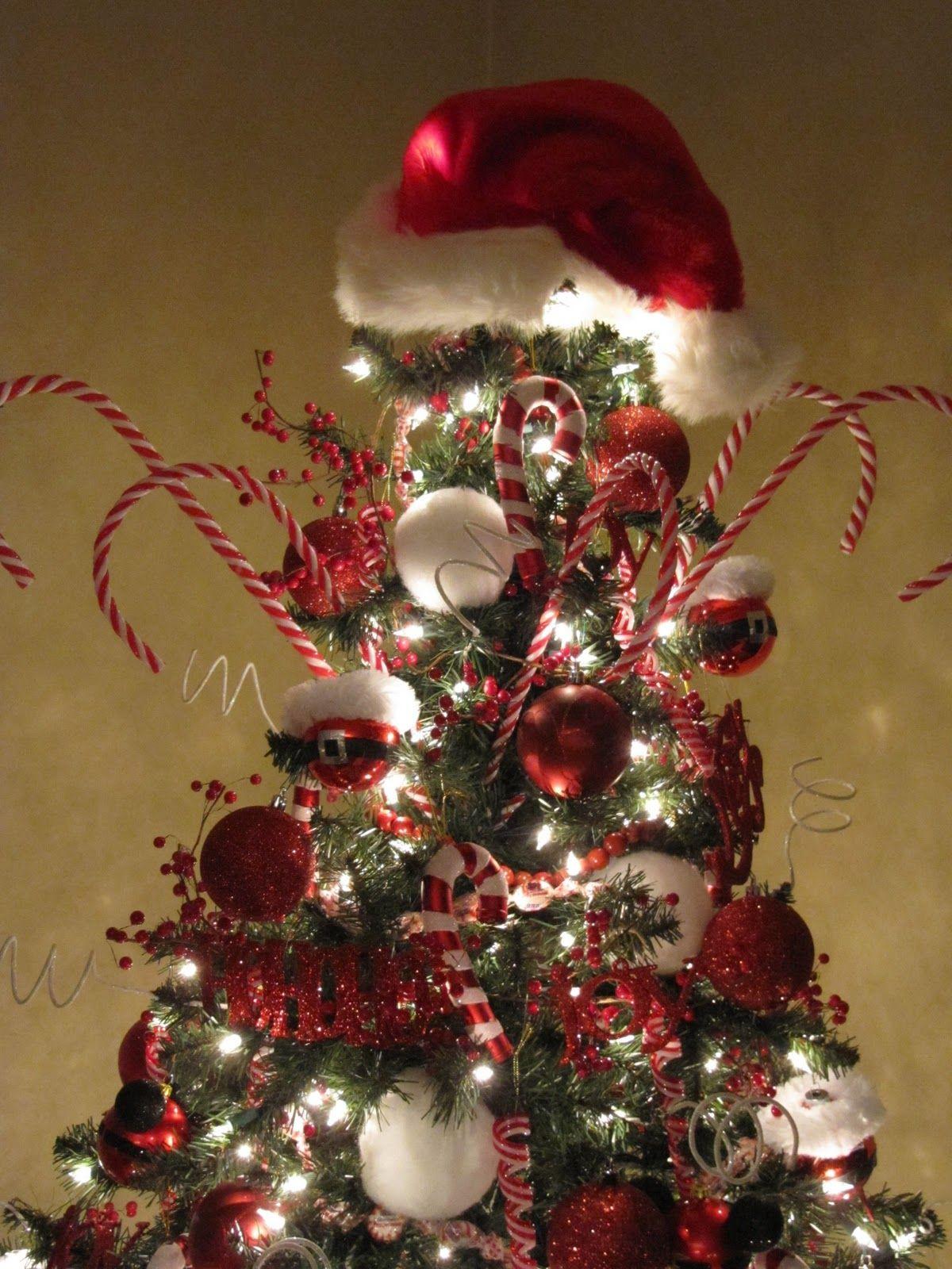 Sew Many Ways Santa Claus Tree Winter Christmas