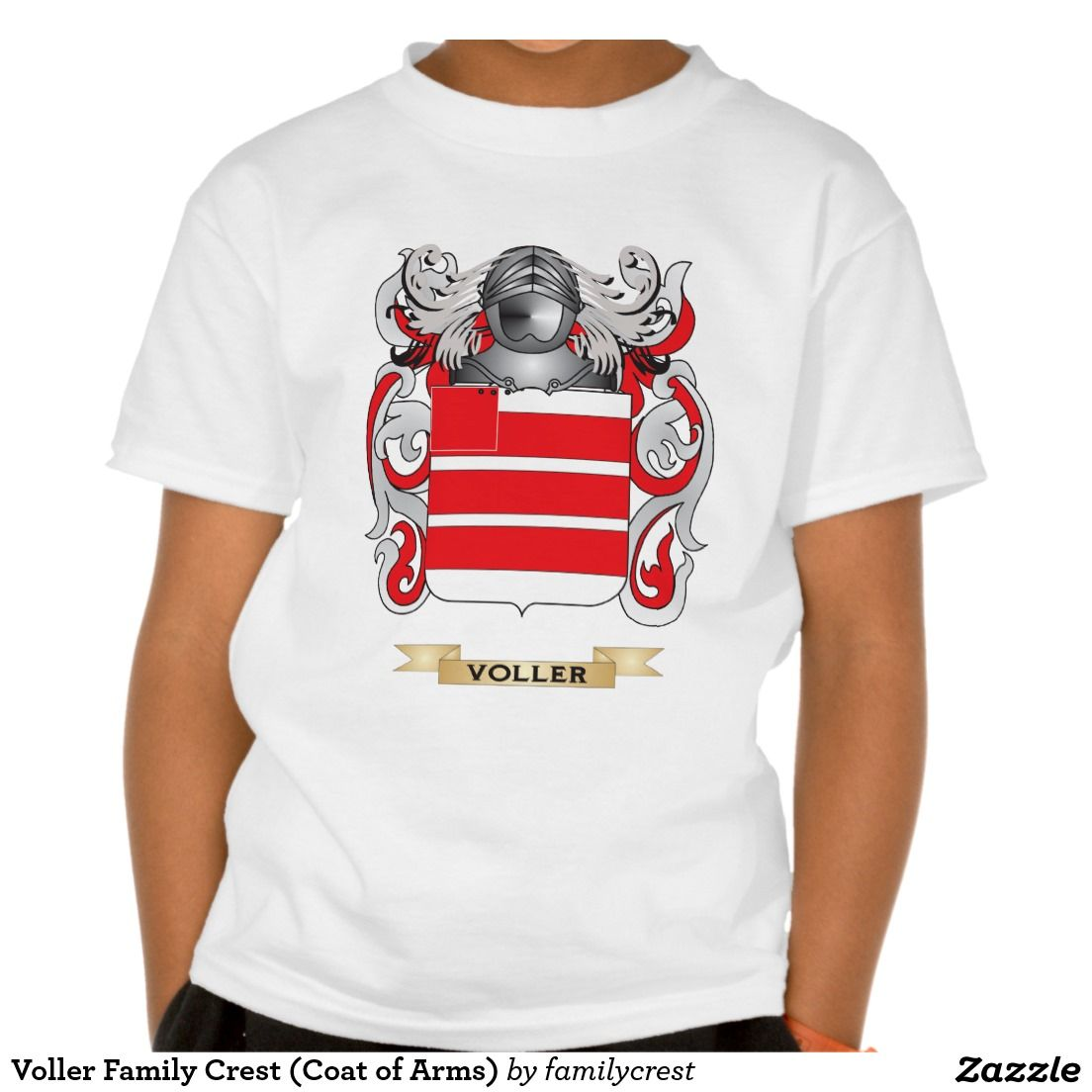Voller Family Crest (Coat of Arms) Tee Shirts