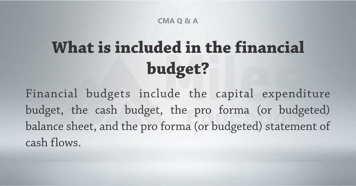 Tip 1 on How to Study for the CMA While Working Full Time Miles - capital budgeting spreadsheet