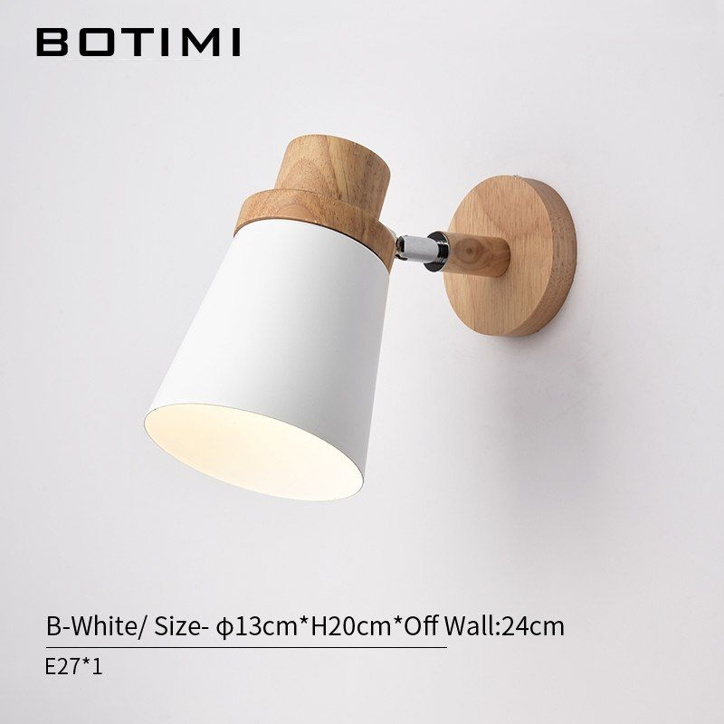 Groovy Botimi Nordic Led Wall Lamp For Bedroom Reading Wall Sconce Interior Design Ideas Tzicisoteloinfo