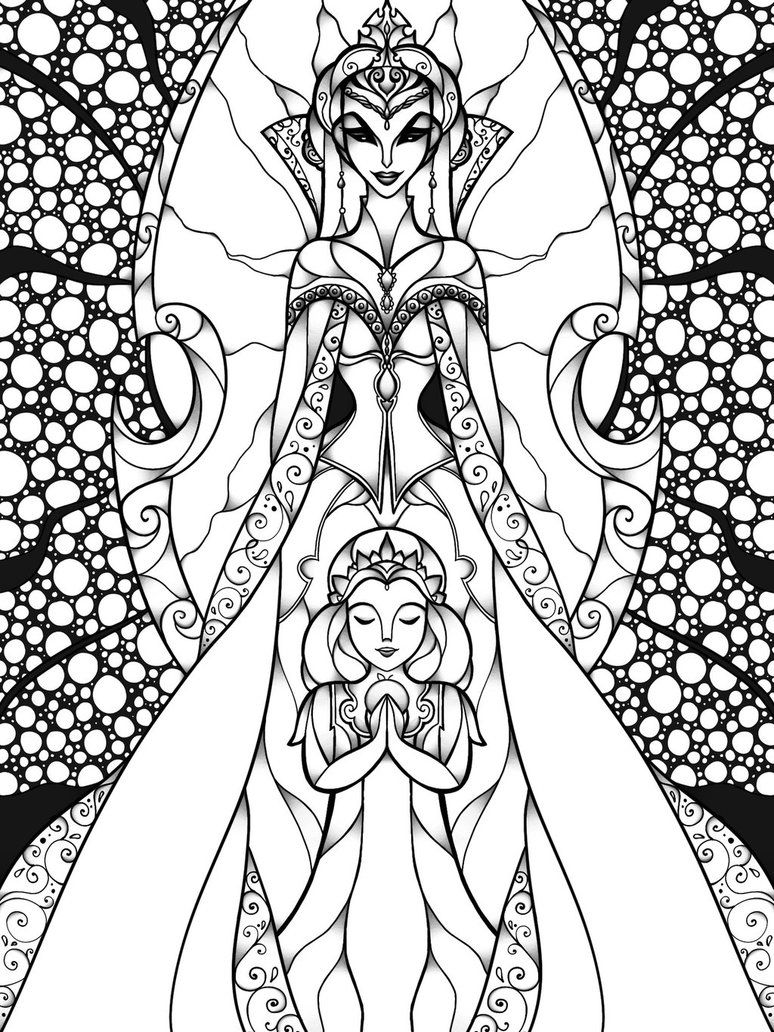 Evil In Disguise Cute Coloring Pages Colorful Drawings Coloring Books