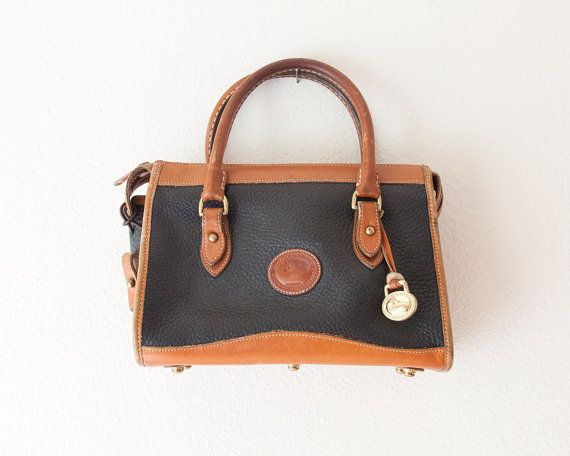 Vintage 1980s Dooney and Bourke Handbag // Vintage by monaandco