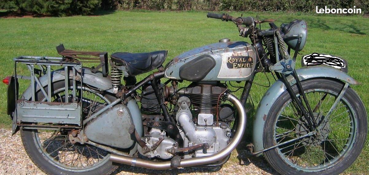 350 Royal Enfield Wd Co Ou Civil Recherche Motos Loire Leboncoin Fr Old School Motorcycles Royal Enfield Royal Enfield Bullet