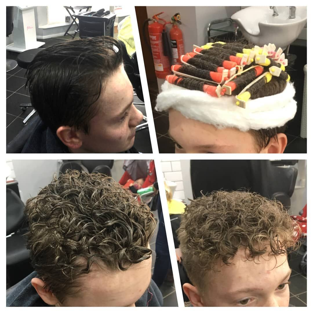 Yes The Perm Is Back But It S The Teenage Boys Who Are Picking Up This Trend From Straight To Curly Hair Curly Hair Styles Permed Hairstyles Boy Hairstyles