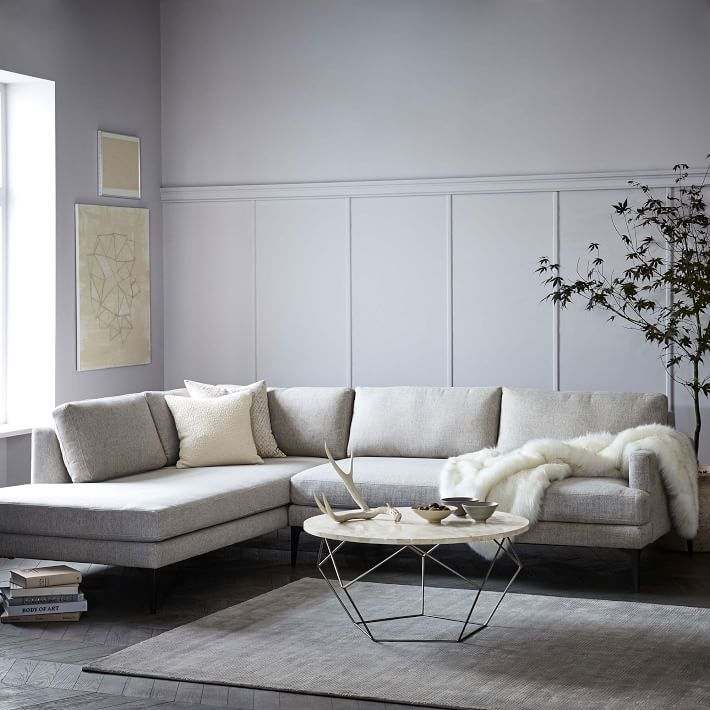 Andes Terminal Chaise Sectional Reclining Sectional With Chaise