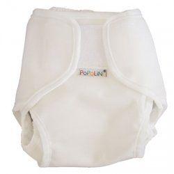 Popolini PopoWrap BLANCO Blanco tela para pañales talla M 5-10 kg