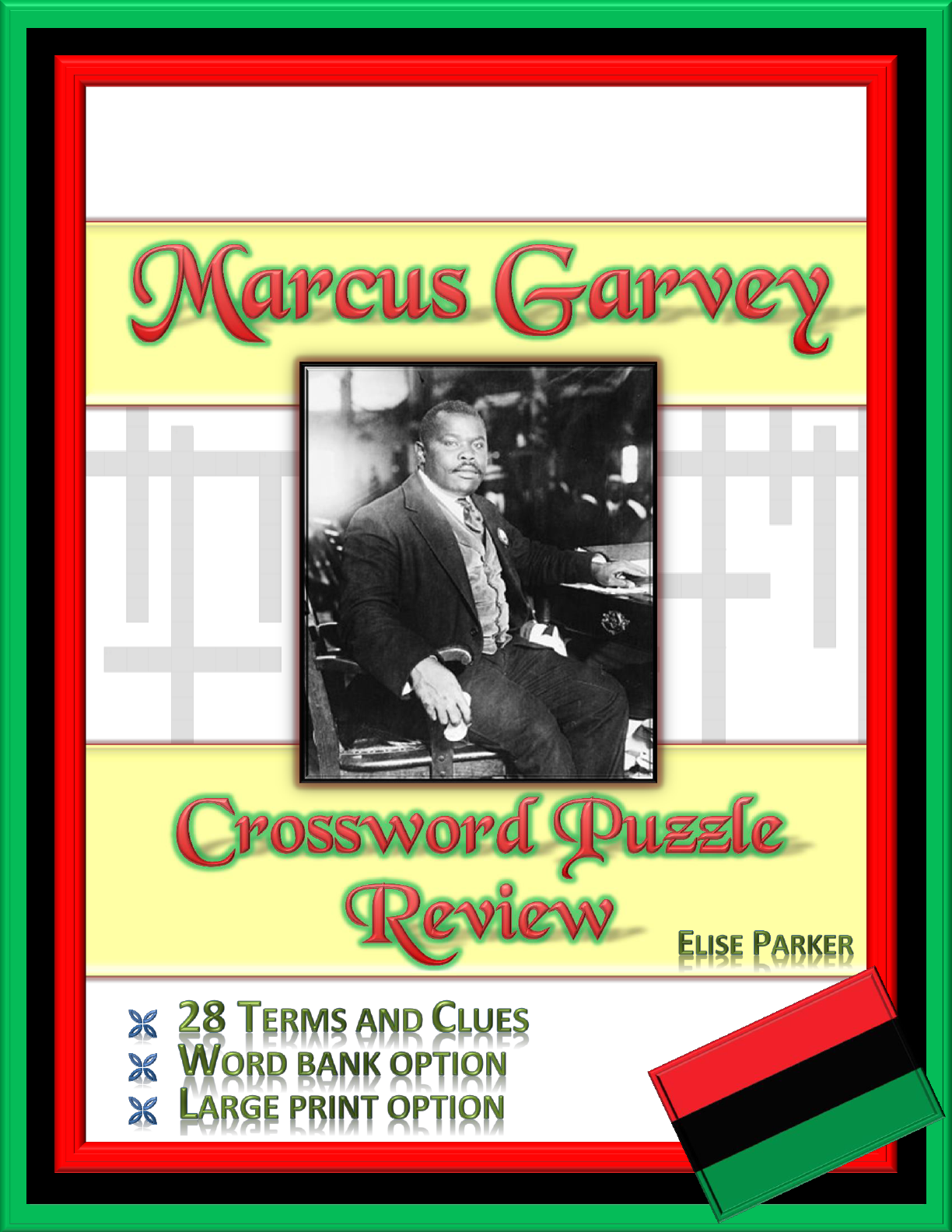 Marcus Garvey Crossword Puzzle Review