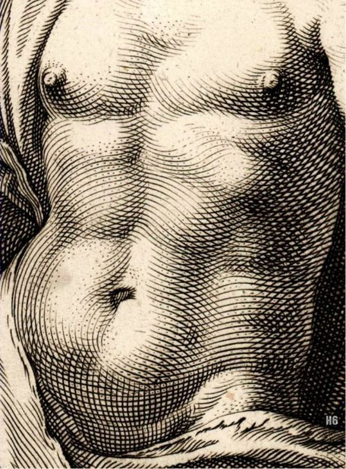 Mercury (detail), Hendrick Goltzius, 1592. Marvelling at the ...