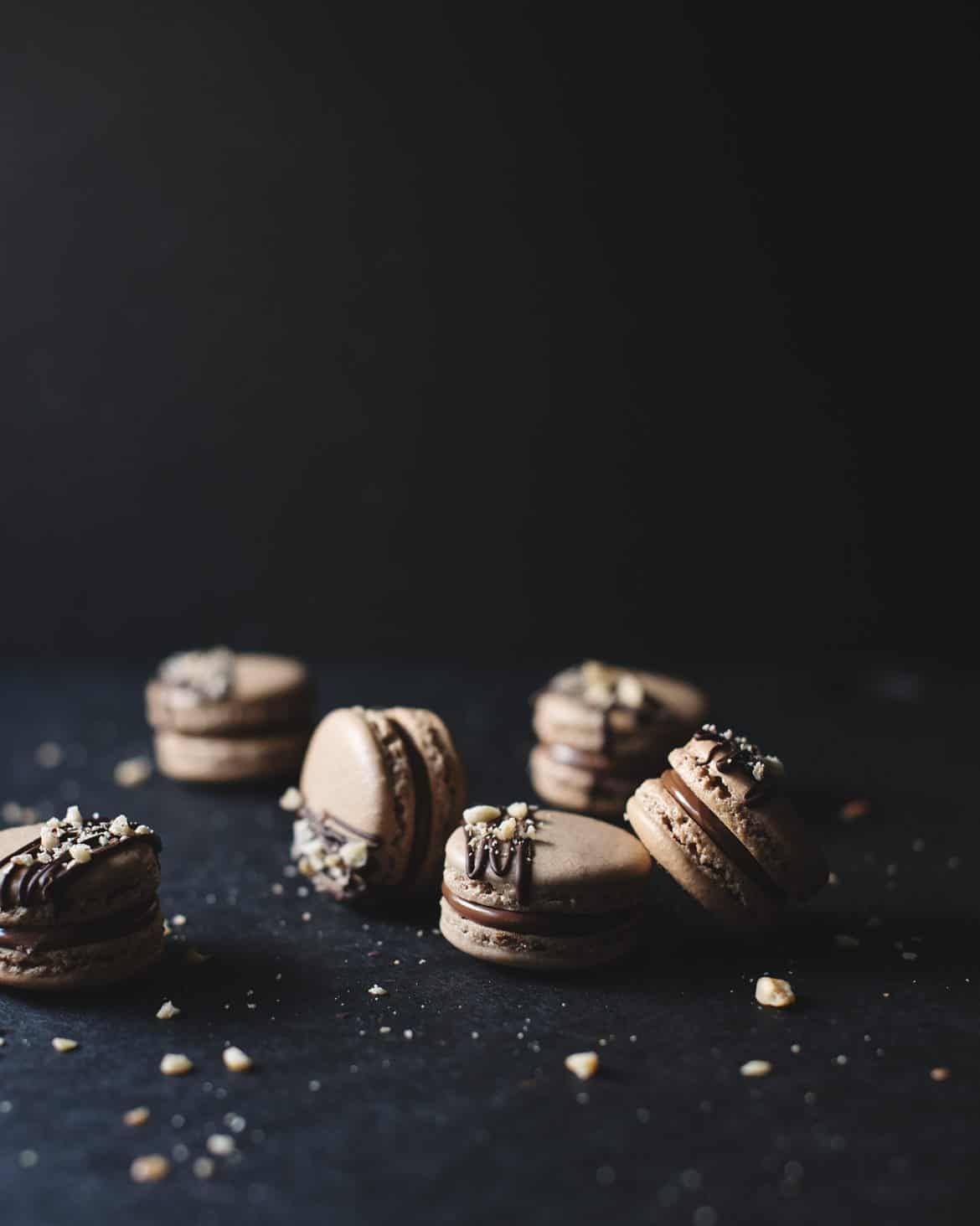 Ferrero rocher macarons recipe macarons chocolate