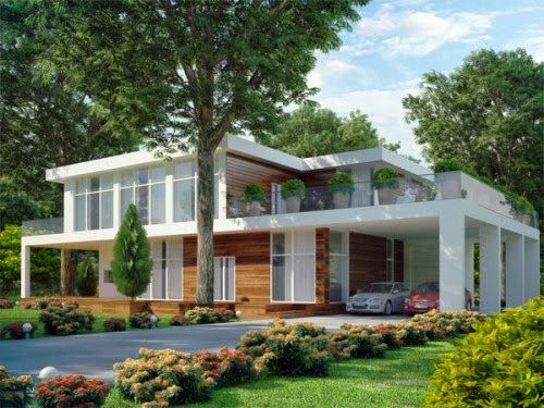 home plans for an upslope lot - Modern Residential Design - Search - copy blueprint consulting bellevue wa