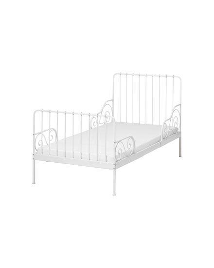 lit blanc fer chambre enfant lit