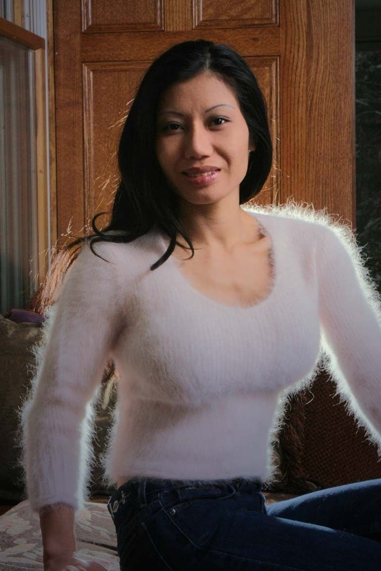 from Graysen naked women in angora sweaters