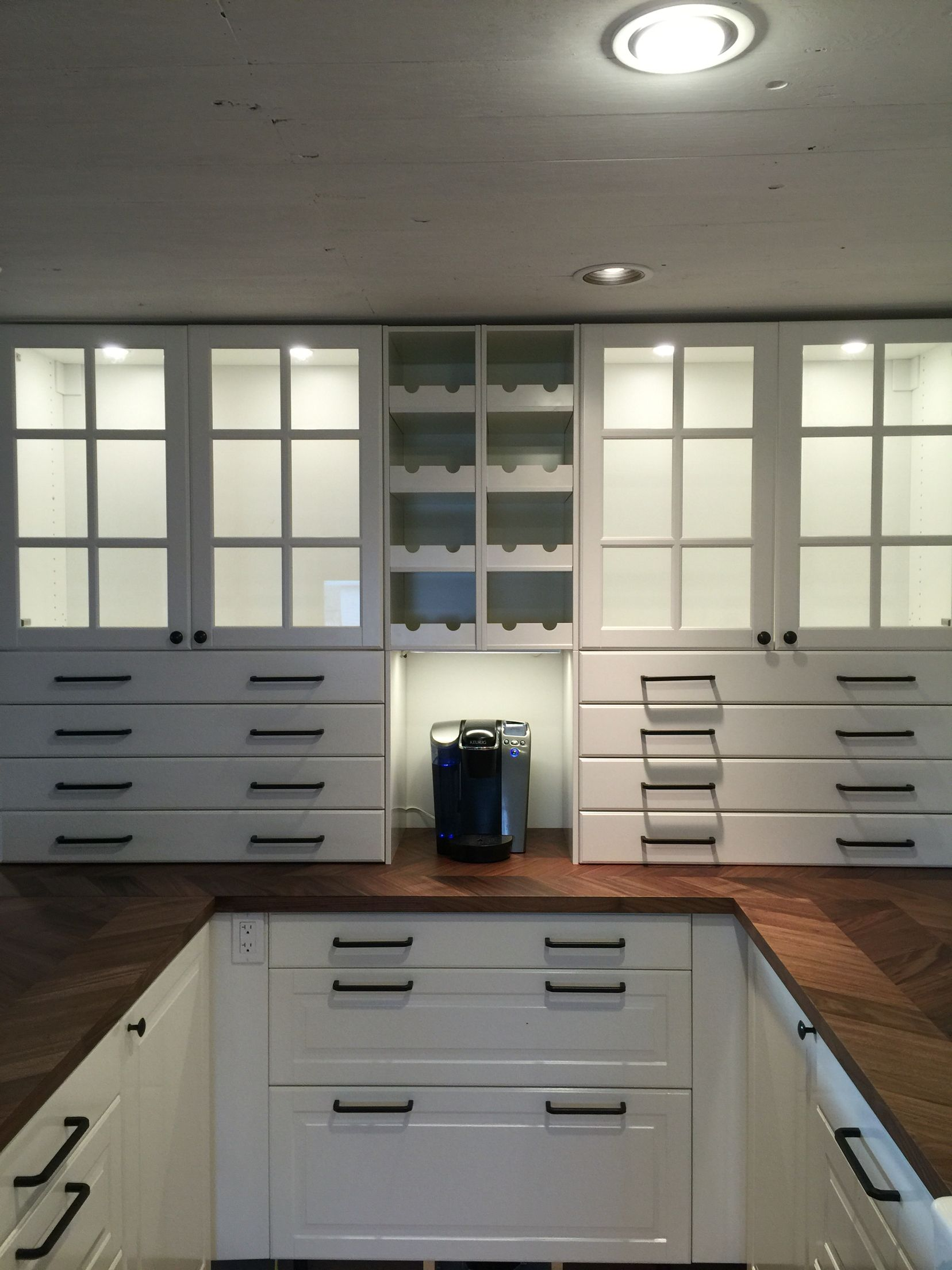 Ikea Barkaboda Countertop Modern Kitchen Cabinet Design Modern Kitchen Kitchen Cabinet Styles