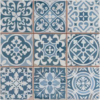 20150511 De Waal Art Moroccan Tiles Blue Decor Tile Bathroom Victorian Tiles