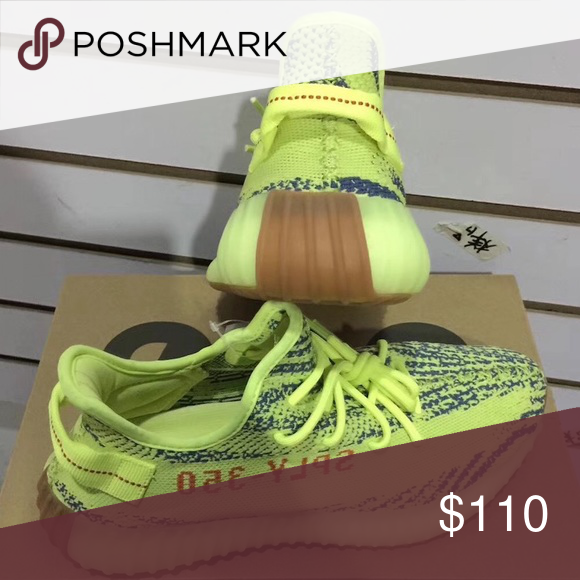 sale retailer 22a35 5dd42 ... where can i buy Adidas Yeezy Boost 350 V2 Frozen Yellow Sneakers New  shoes, as ...