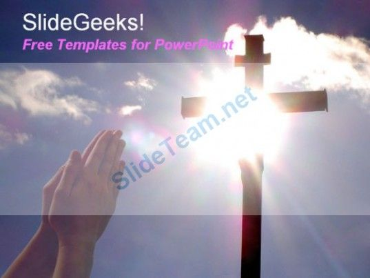 Hand praying to jesus christ cross in hilltop with sun shining in hand praying to jesus christ cross in hilltop with sun shining in background free powerpoint templates ppt themes presentation backgrounds powerpoint toneelgroepblik Choice Image