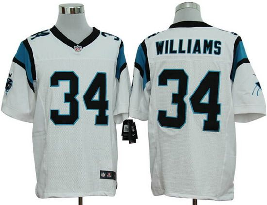 0fcf445e0 ... discount nike panthers 34 deangelo williams white mens nfl elite jersey  b9d51 3e49d