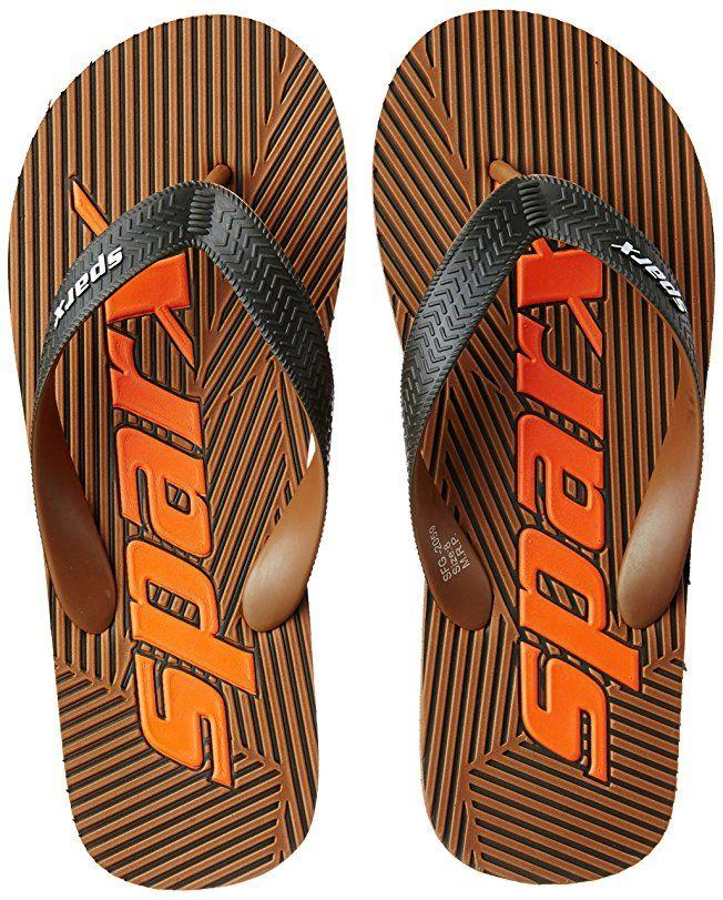 d1e0db301 Sparx Men s Black and Red Flip Flops Thong Sandals - 7 UK India (40.67