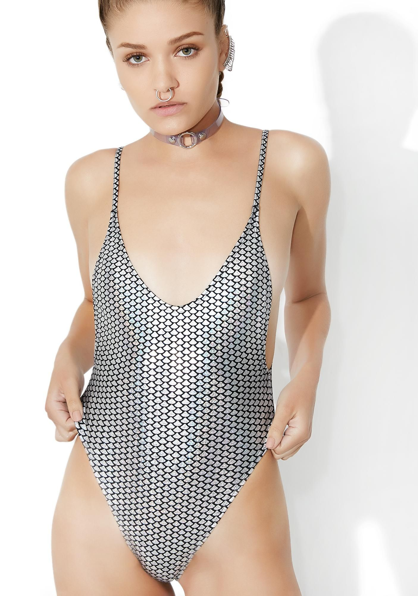 87948a82bdd82 Jaded London Cami High Leg Swimsuit this one's a real kicker, bb! Dive into