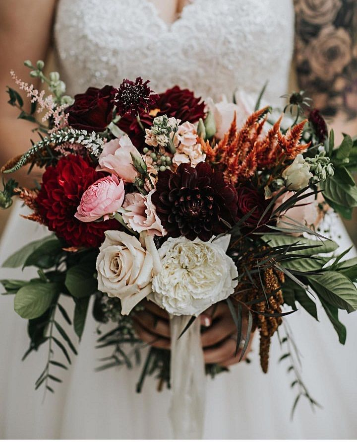 Wedding bouquet inspiration,wedding bouquet | fabmood.com #weddingbouquet #fallweddingbouquet #winterbouquet #bridalbouquet #bouquet