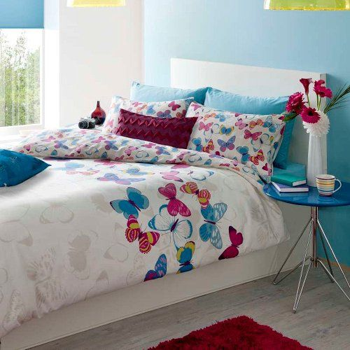 butterfly fusion duvet cover set single all for you home http