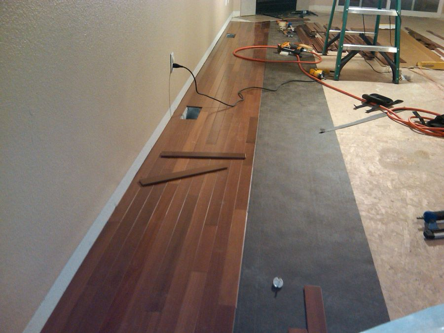 hardwood flooring how to
